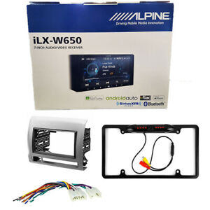 """Alpine 7"""" Double DIN Car Stereo with Apple Carplay for 2005-2011 Toyota Tacoma"""