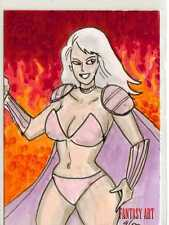 Fantasy Art Sketch Card by Adam Talley /11 - Unstoppable Loaded Pack Release