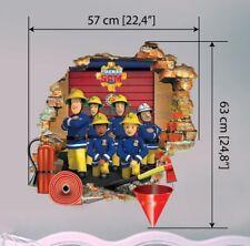Feuerwehrmann Sam Wandtattoo Art Fireman Sam wall stickers Wandaufkleber 57X80cm