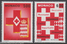 MONACO - 1993 Monaco Red Cross (2v) - UM / MNH