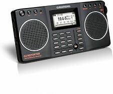 Eton Grundig G2 AM / FM / Shortwave Radio, Recorder - Black, NG2B