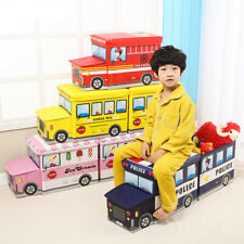 Kids Foldable Toy Storage Box Books Clothes Large Organiser Box for Boys Girls