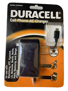 Duracell Cell Phone AC Charger DCS5343. EE