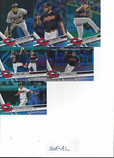 2017 Topps 2 Rainbow Lonnie Chisenhall Cleveland Indians # 535