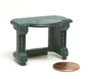 Playmobil Miniature Castle Medieval Wizard's Workshop Dark Grey Table Furniture