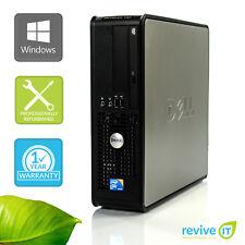 Dell Optiplex 780 SFF  E8400 3.00GHz 4GB 500GB Win 7 Pro 1 Yr Wty