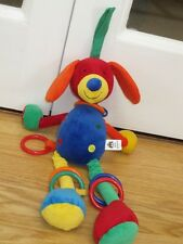 """LITTLE JELLYCAT DANGLY DOG 14-17"""" SOFT TOY CHIMING HANGING BABY JELLY CAT"""
