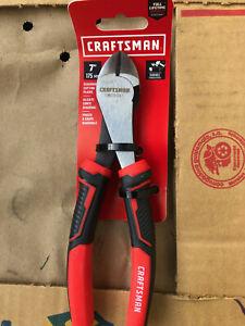 "Craftsman Diagonal Cutting Pliers 7"" Tin Snips new tools cutters pinchers SEARS"