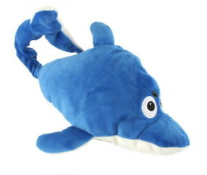 Chuckle Buddies Dolphin Porpoise Motion Activated Rolling Laughing Friends Toy