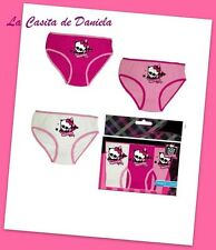 MONSTER HIGH Lote 3 braguitas T.6-8// MONSTER HIGH Lot 3 panties 6-8 Years