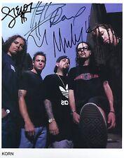 Korn SIGNED Photo 1st Generation PRINT Ltd, No'd + Certificate / 1