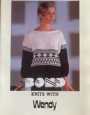 Knits with Wendy Pattern Book for Bond, USM, Ultimate sweater machine