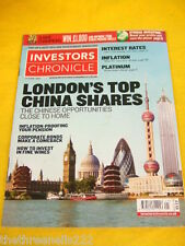 INVESTORS CHRONICLE - INVEST IN FINE WINES - MAY 23 2008