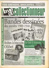*** La Vie du Collectionneur *** n° 290 (22/10/1999)  Bandes dessinées 1900-1940