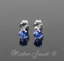 Butterfly Cubic Zirconia Blue Fine Earrings