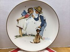 Norman Rockwell 1972 Limited In Edition Plate Spring Beguiling Buttercup New!