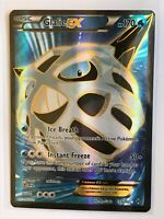Glalie EX FULL ART ULTRA RARE 155/162 Pokemon XY Breakthrough TCG Card Holo