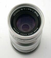 LEICA Elmar 4/90 90 90mm f4 4 M39 LTM E39 1505283 1957 /20