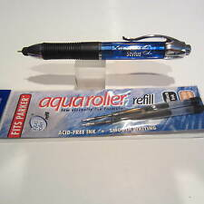Itoya XENON STYLUS Ballpoint Pen/Conductive Tip-Ocean ( Blue)+ 2 FREE Refills