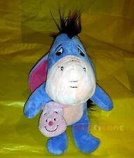 Peluche Plush - IH-OH EEYORE con sacca Pimpy (Winnie The Pooh) 28 cm. - USED CV