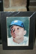Artist Haiyan Signed Lithographs 1998 Yankees Baseball Mickey Mantle 20 X 16