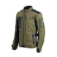 Triumph Beacon Mens Motorcycle Jacket Coat 3 in 1 all weather  MTPS18405 Medium