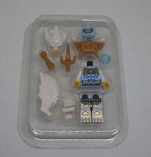 Lego Legends of Chima - Ewar Figur weiss mit Flügeln, Maske, Waffe, in Box - Neu