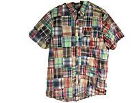 Vineyard Vines Patchwork Men's M Murray Shirt Plaid Classic Fit Multicolor New
