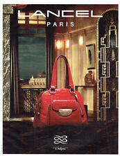 Publicité Advertising 107  2009   L'Adjani   sac Lancel