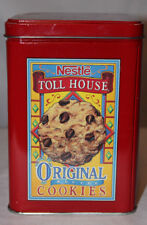 Vintage Nestle Toll House SemiSweet Original Recipe Chocolate Chip Cookies Tin