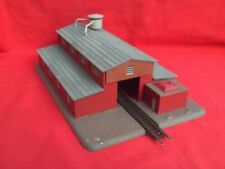 N GAUGE -LARGE DRIVE-THROUGH RAILWAY SHED,WAGON WORKS,FACTORY UNIT IN V.G.C.