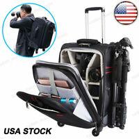 CADeN K10 Camera Bag Backpack Trolley Case For Canon Nikon Sony Leica SLR DSLR