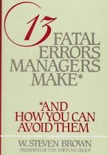13 Fatal Errors Managers Make-ExLibrary
