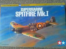 TAMIYA 1/72 War Bird Collection SUPERMARINE SPITFIRE Mk1 kit 60748*1000