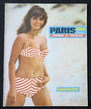 Revue PARIS FLIRT n° 552 aout 1967 DENANT pin up érotica érotique