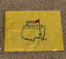 New 2010 Masters Embroidered Golf Pin Flag Winner Phil Mickelson