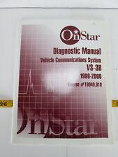 1999-2000 OnStar Diagnostic Manual Vehicle Com. System VS-3B Course 19040.01B L