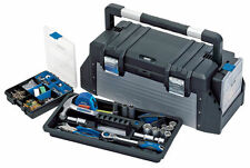 Draper 23309 25 Ltr Litre 640mm Tool Box with Organisers and Tote Tray