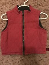 WOOLRICH Kids 2T 3T Vest Girls Zipper with Pockets Outerwear Jacket