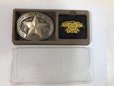 Southern Building Code Congress 1940-1985 Solid Brass Belt Buckle