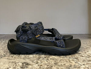TEVA Men's Terra Fi 5 Universal Sport Sandals Madang Blue Size 10 M US $100 NEW