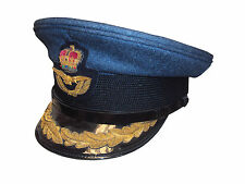 RAF - Royal Air Force GROUP CAPTAIN Peaked Cap - Size 52 CM - Used - G1723
