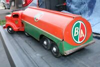 Minnitoys Otaco BA Gas Tanker Deliver Truck - Pressed Steel - Made in Canada