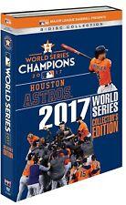 MLB World Series 2017 Houston Astros Collector's Edition [DVD] *NEU* Alle Spiele