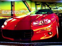 "1998 Camaro Z 28 2 page Original Print Ad 9 x 11"""