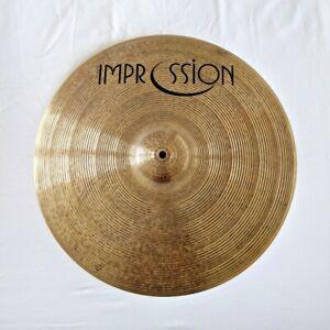 "Impression 18"" Smooth Medium Thin Crash Cymbal 012-103-2543"