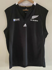 Adidas All Blacks Rugby World Cup Jersey Size XXL Sleeveless