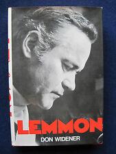 JACK LEMMON Bio SIGNED by LEMMON to ROBERT MITCHUM wi His Estate Stamp