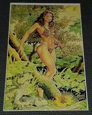 CAVEWOMAN HUNT #2 (2010) - Virgin Variant Cover Bud Root HTF Special Edition