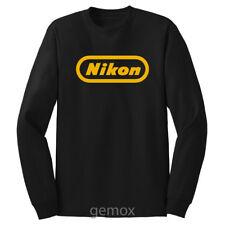 Vintage Nikon Long Sleeve T-Shirt Sz S - 5XL